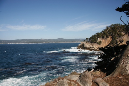 Point Lobos Looking to Pebble Be